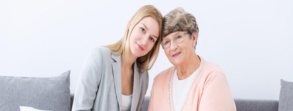 Häusliche Altenpflege