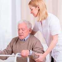 Häusliche Pflegekraft